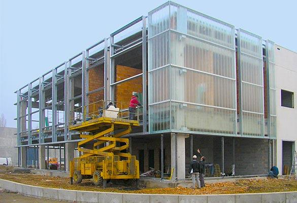 Costruzioni metalliche carpenterie costruzioni in acciaio - esempio 2