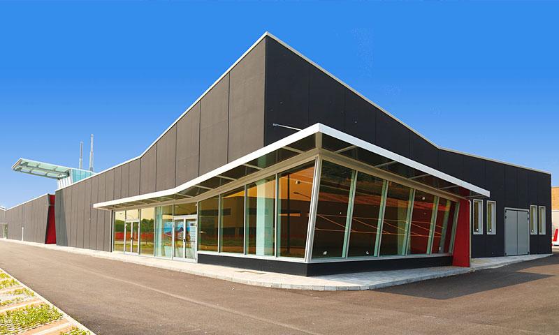 Costruzioni metalliche costruzioni architettoniche in acciaio - quarantacinque