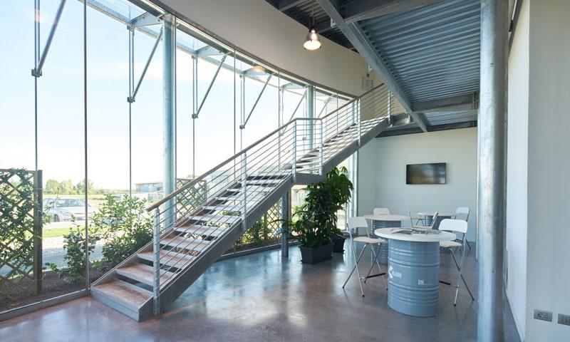 Costruzioni metalliche costruzioni architettoniche in acciaio - scale in acciaio interne