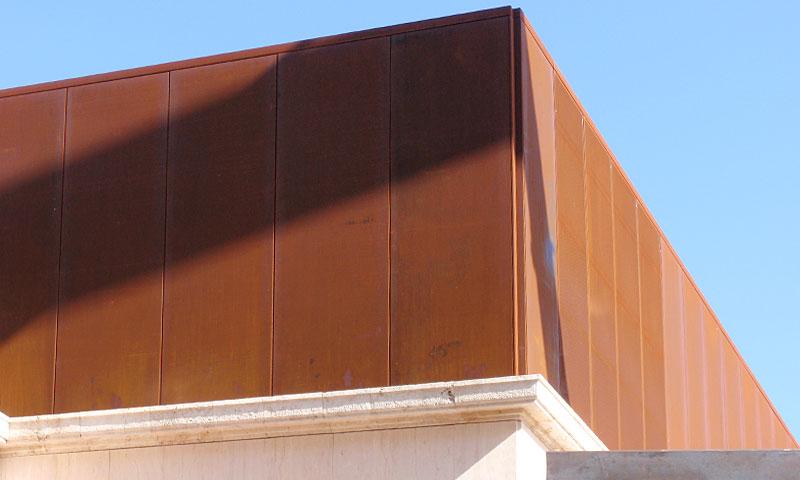 Costruzioni metalliche costruzioni architettoniche in acciaio - trentaquattro