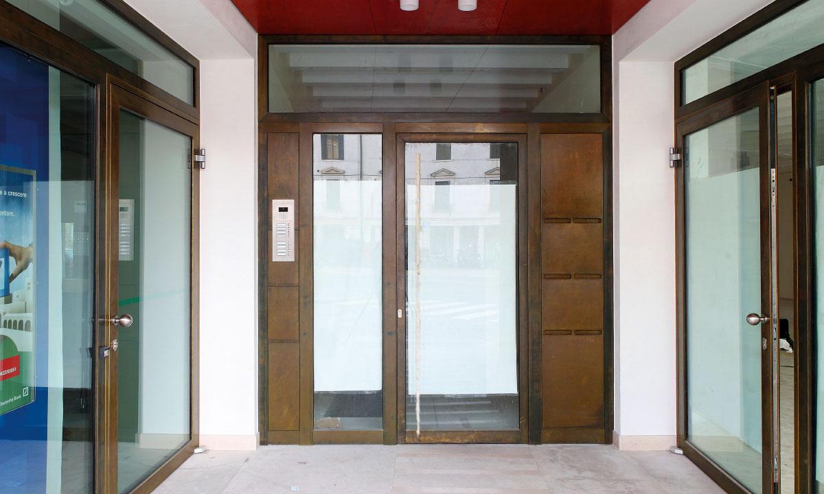 Serramenti in alluminio infissi finestre - gallery 11 applicazione commerciale serramenti in alluminio