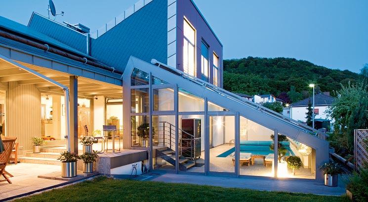 Serramenti in alluminio infissi finestre - img04 serramenti in alluminio ad uso residenziale