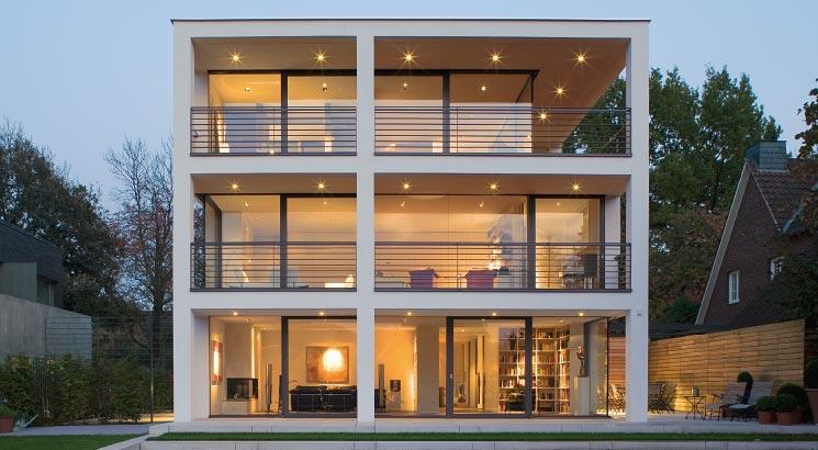 Serramenti in alluminio infissi finestre - img05 serramenti in alluminio su struttura commerciale