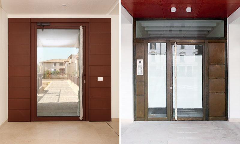 Costruzioni metalliche costruzioni architettoniche in acciaio - serramenti alluminio
