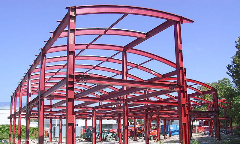 Costruzioni metalliche costruzioni architettoniche in acciaio e vetro - sei