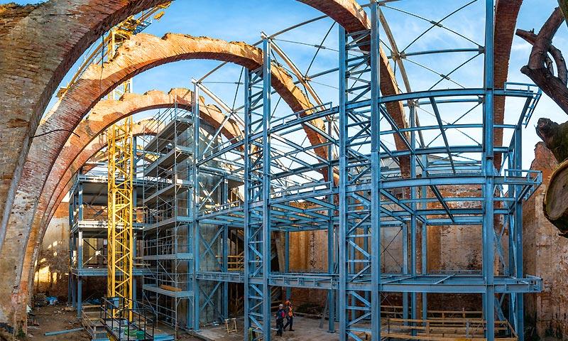 Costruzioni metalliche costruzioni architettoniche in acciaio - sette