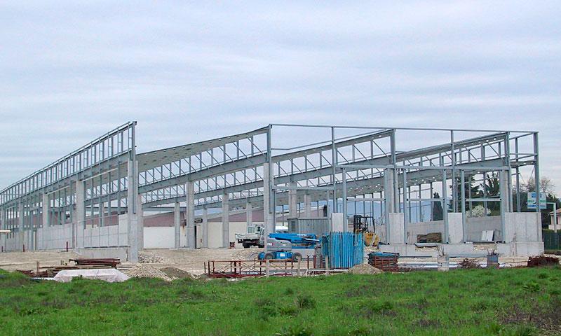 Costruzioni metalliche costruzioni architettoniche in acciaio - particolare