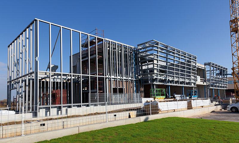 Costruzioni metalliche costruzioni architettoniche in acciaio - nove