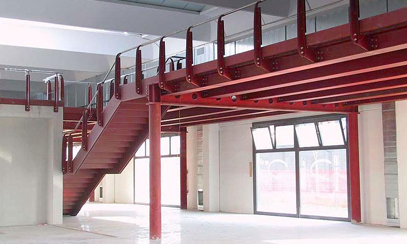 Costruzioni metalliche costruzioni architettoniche in acciaio - cinquantuno