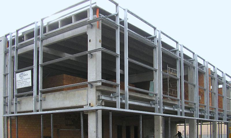 Costruzioni metalliche costruzioni architettoniche in acciaio - interni