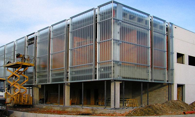 Costruzioni metalliche costruzioni architettoniche in acciaio - cinquantotto