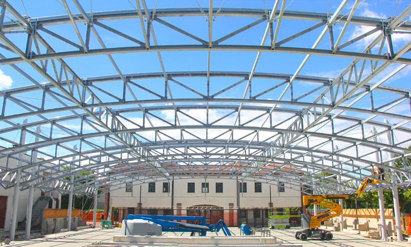 Costruzioni metalliche costruzioni architettoniche in acciaio - venticinque
