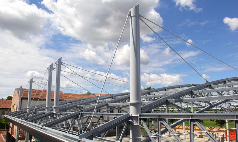 Costruzioni metalliche costruzioni architettoniche in acciaio - quarantatre